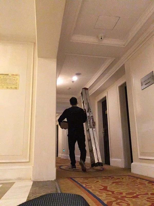 金旺角大酒店香氛系统维护